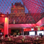 Gala dinner at the Louvre Museum