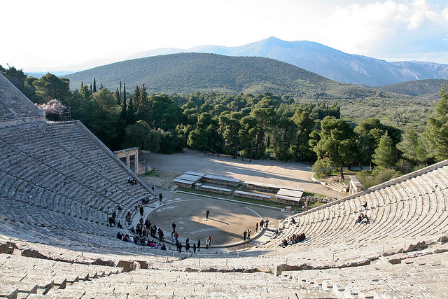 Epidaurus Theater - by *clairity*